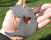 Cat Ornament 2 Pet Memorial W/ Angel Wings - Pet Loss Cat Sympathy Remembrance Gift - Metal Cat Christmas Ornament - Cat Lover