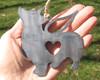 Corgi Dog Ornament 2 Pet Memorial W/ Angel Wings - Pet Loss Dog Sympathy Remembrance Gift - Metal Dog Christmas Ornament