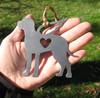 Great Dane 3 Pet Loss Gift Ornament Angel - Pet Memorial - Dog Sympathy Remembrance Gift - Metal Dog Christmas Ornament