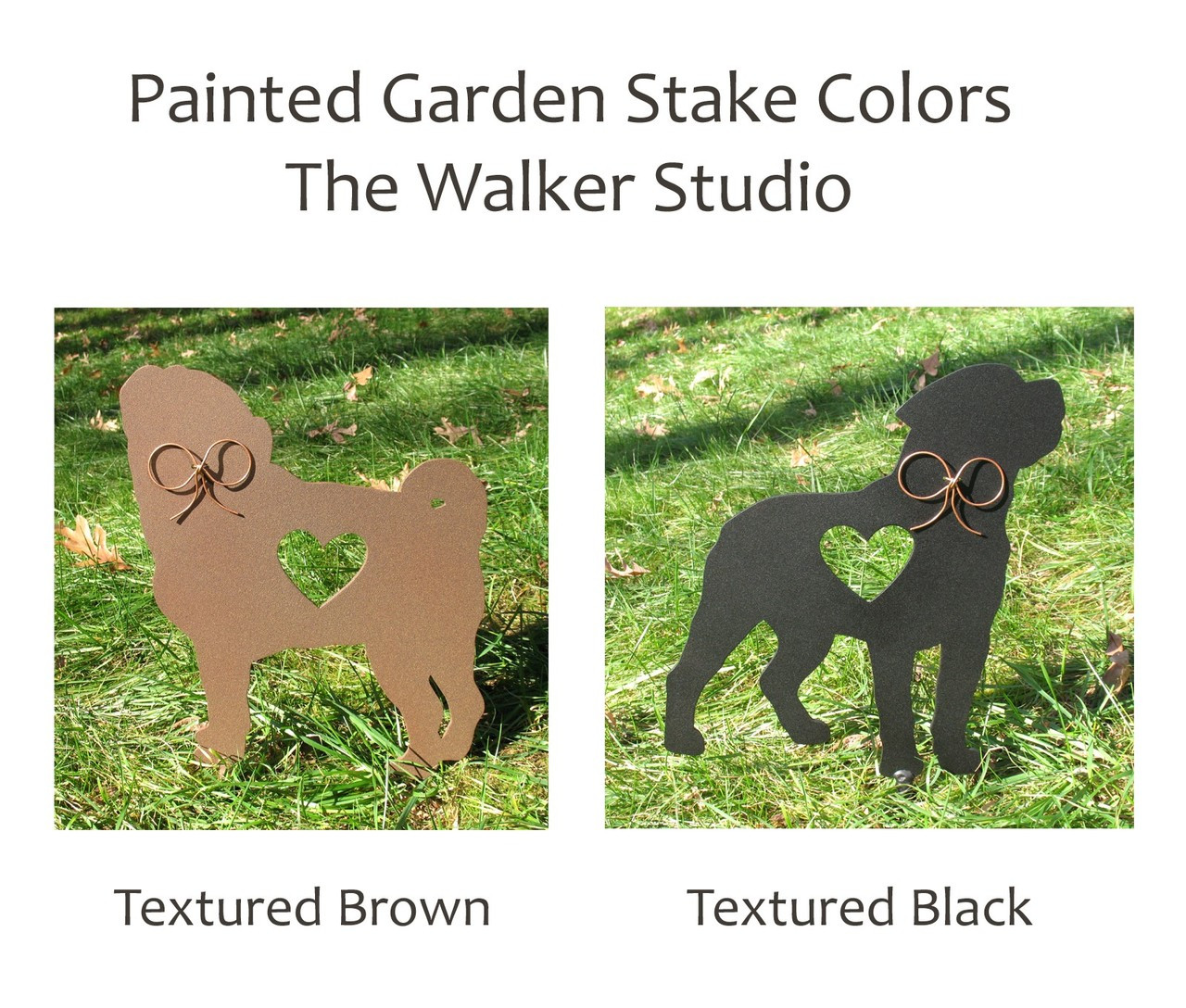 Painted Dog and Cat Stake Colors