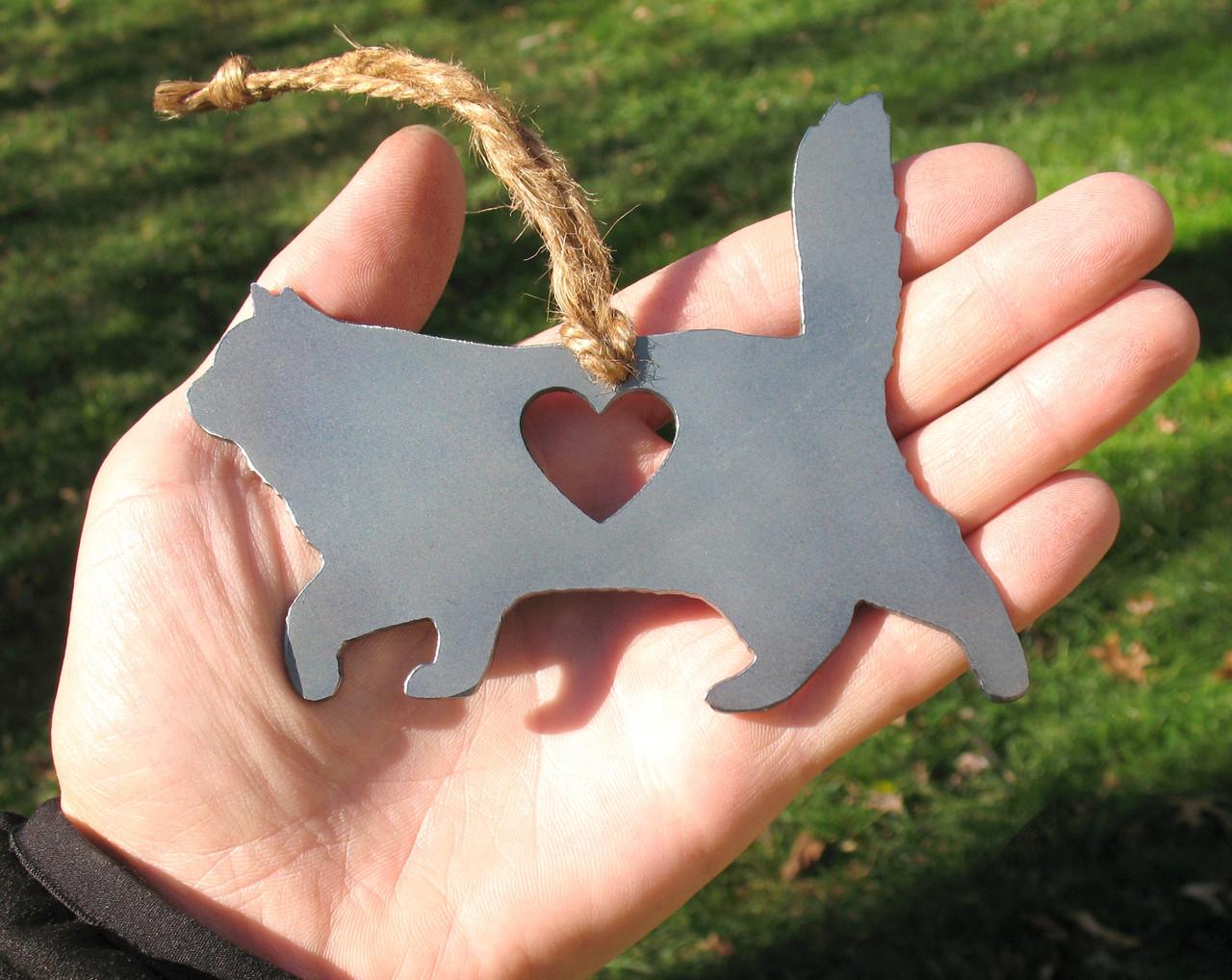 Birman Cat Memorial - Cat Loss Gift - Pet Loss Cat Sympathy Remembrance Gift - Metal Cat Christmas Ornament - Cat Lover