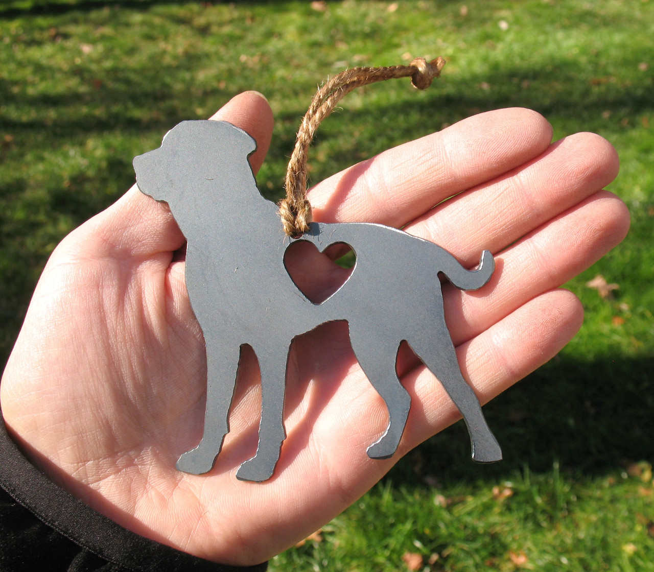 Greater Swiss Mountain Dog Pet Loss Gift Ornament - Pet Memorial - Dog Sympathy Remembrance Gift - Metal Dog Christmas Ornament