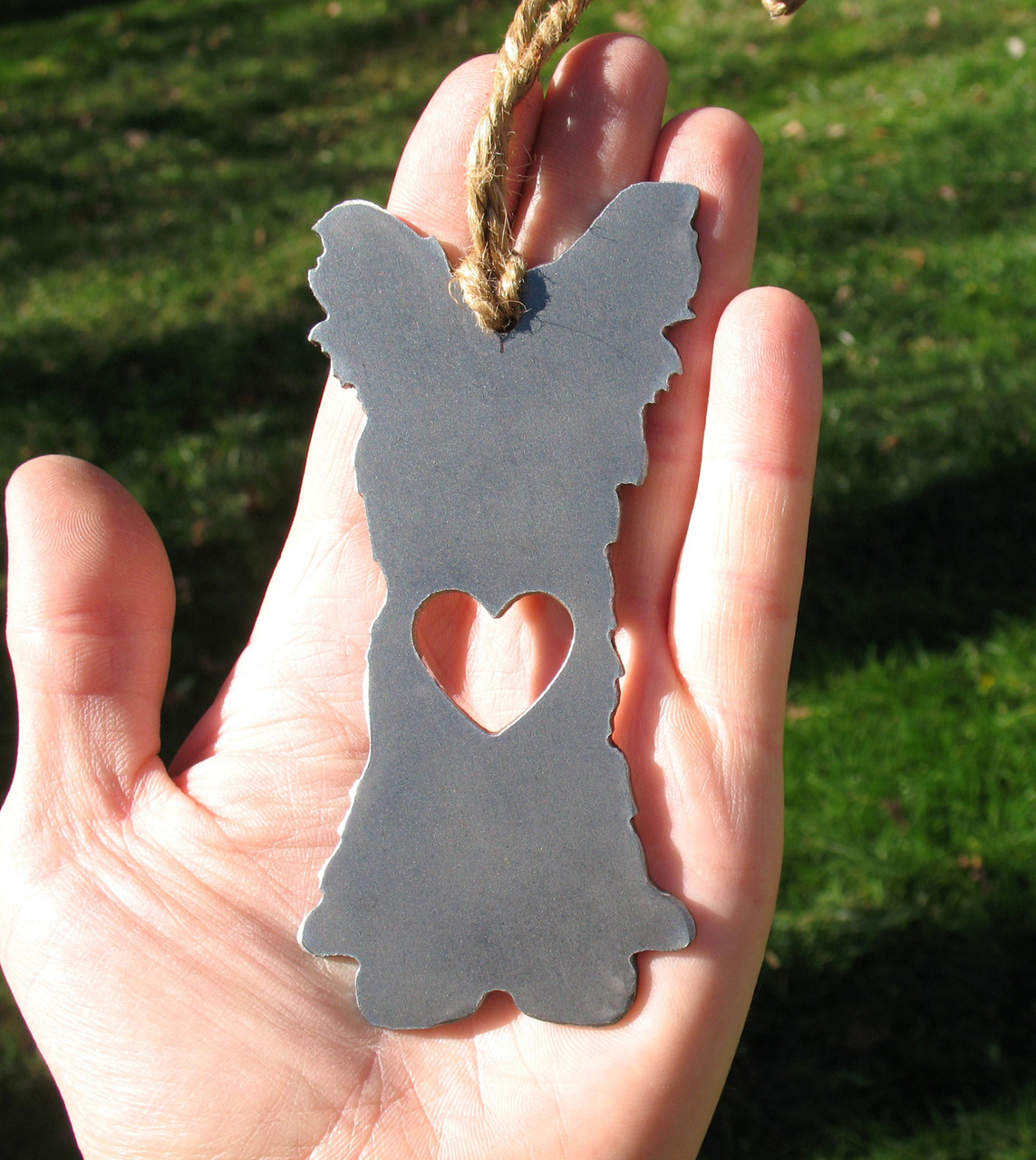 Yorkshire Terrier 3 Pet Loss Gift Ornament - Pet Memorial - Dog Sympathy Remembrance Gift - Metal Dog Christmas Ornament