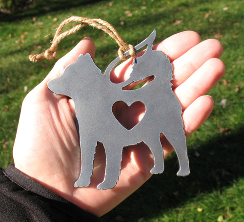 Alaskan Malamute Pet Loss Gift Ornament Angel - Pet Memorial - Dog Sympathy Remembrance Gift - Metal Dog Christmas Ornament