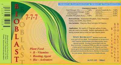 Fertilizer and Nutrient Package - Excalibur Plumeria Fertilizer VI, Bioblast, Root Activator, Vitazyme