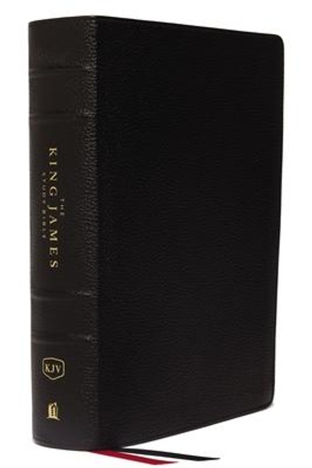 <p>Standing apart from all other KJV study Bibles on the market, <strong><em>the King James Study Bible, Full Color Edition</em></strong> is the only Bible featuring extensive commentary, doctrinal notes, archaeological insights, and time-tested study aids developed exclusively for the King James Version. Now available with stunning full-color designs, Holy Land images, classic works of art, charts, and maps, <em>the King James Study Bible, Full Color Edition</em> guides you through the vivid beauty and authority of God's Word as you grow in your biblical knowledge.</p><p>For over a quarter of a century, Thomas Nelson has earned the trust of millions with the best-selling King James Study Bible, offering the standard of conservative KJV scholarship. Our tradition and commitment to KJV study continues with the release of <em>the King James Study Bible, Full Color Edition</em>.</p><p><strong>Features include: </strong></p><ul> <li>Beautiful full-color throughout</li> <li>Easy-to-read 10-pt type large print</li> <li>5,700 authoritative and study notes</li> <li>Center-column references with translation notes</li> <li>Hundreds of color maps and charts</li> <li>Over 100 archaeological notes</li> <li>Over 100 personality profiles</li> <li>Over 200 notes on Christian doctrines</li> <li>Easy-to-navigate topical indexes</li> <li>Book introductions and outlines</li> <li>Word-study concordance</li> <li>Time-honored KJV Bible text</li> </ul><br><br><b>Author:</b> Thomas Nelson<br><b>Publisher:</b> Thomas Nelson<br><b>Published:</b> 08/08/2017<br><b>Pages:</b> 2368<br><b>Binding Type:</b> Leather<br><b>Weight:</b> 4.35lbs<br><b>Size:</b> 10.00h x 7.40w x 2.40d<br><b>ISBN:</b> 9780718080013<br><b>Large Print</b>