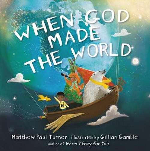 <b><b>From the author of the bestselling children's book</b><b><i> When God Made You</i></b><b> comes a rhythmic, whimsical journey through creation--for little readers who love science and wonder and the beginnings of all things.</b></b> <p></p>For spiritual parents who are looking for a different kind of creation book, Matthew Paul Turner's <i>When God Made the World</i> focuses on the complex way that God created our vast and scientifically operating universe, including the biodiversity of life on our planet and the intricacies of a vast solar system. Scottish illustrator Gillian Gamble brings the natural world to vibrant life with rich colors and poignant detail certain to stretch young minds and engage imaginations. <p></p>Planet Earth, God made a blue and green sphere, <br>And designed it to orbit the sun once a year. <p></p>God made daytime and nighttime, climates and seasons, <br>And all kinds of weather that vary by region. <p></p>God made continents and oceans, islands and seas, <br>A north and south pole that God put in deep freeze. <p></p>God carved rivers and brooks, mountains and caves, <br>Made beaches with sand and huge crashing waves. <p></p>God made tropics and plateaus, glaciers and meadows, <br>marshes and tundras and erupting volcanos.<br><br><b>Author:</b> Matthew Paul Turner<br><b>Publisher:</b> Convergent Books<br><b>Published:</b> 01/28/2020<br><b>Pages:</b> 48<br><b>Binding Type:</b> Hardcover<br><b>Weight:</b> 0.66lbs<br><b>Size:</b> 8.60h x 8.50w x 0.40d<br><b>ISBN:</b> 9780525650669