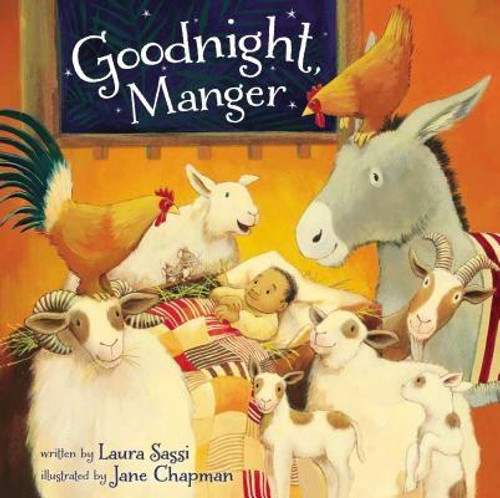 <p>The board book edition of Goodnight, Manger, written by Laura Sassi and illustrated by New York Times bestselling artist Jane Chapman, tells the story of Mary and Joseph as they try to lull Jesus to sleep in the noisy stable after his birth.</p><p>It's bedtime for Baby Jesus, but who knew a manger could be so loud? Mama, Papa, and all of the animals try to lull the baby to sleep, but between itchy hay, angels' joyful hosanas, and three kings bearing noisy gifts, it's just too loud. Until Mama finds a way for everyone to work together to shepherd Baby into peaceful dreams under the twinkling stars.</p><p>With sweet, rhyming text in the style of Goodnight, Goodnight Construction Site, Goodnight, Manger offers a unique twist on the classic manger tale, deftly weaving together the comforting and familiar routines of bedtime with the special magic and wonder of the manger story.</p><br><br><b>Author:</b> Laura Sassi<br><b>Publisher:</b> Zonderkidz<br><b>Published:</b> 10/11/2016<br><b>Pages:</b> 24<br><b>Binding Type:</b> Board Books<br><b>Weight:</b> 1.20lbs<br><b>Size:</b> 8.10h x 8.20w x 0.80d<br><b>ISBN:</b> 9780310755715
