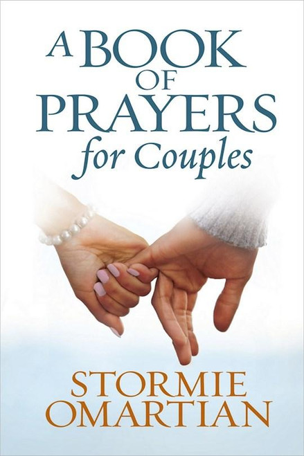 """<p data-mce-fragment=""""1"""">The three books of prayer in this beautiful compilation, based on<span data-mce-fragment=""""1""""></span><i data-mce-fragment=""""1"""">The Power of a Praying(R) Wife</i>,<span data-mce-fragment=""""1""""></span><i data-mce-fragment=""""1"""">The Power of a Praying(R) Husband</i>, and<span data-mce-fragment=""""1""""></span><i data-mce-fragment=""""1"""">The Power of Prayer(TM) to Change Your Marriage</i>, have inspired hundreds of thousands of women and men to strive for a deeper faith and prayer life. These heartfelt prayers, accompanied by Scripture verses and lines to jot a note, lead readers straight to the One who can make a difference in their lives and most important relationships.</p> <p data-mce-fragment=""""1"""">When a husband or wife prays for their spouse, both receive the blessing. Their marriage is strengthened, their commitment renewed, and difficult places made smooth. In this padded hardcover edition with ribbon,<span data-mce-fragment=""""1""""></span><i data-mce-fragment=""""1"""">A Book of Prayers for Couples</i><span data-mce-fragment=""""1""""></span>is the perfect gift for those looking for encouragement, healing, renewal, fruitfulness, and hope in their journey.</p> <p data-mce-fragment=""""1"""">Author:Stormie Omartian</p>"""