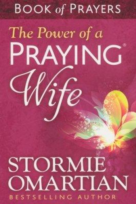 """<div></div> <p><span style=""""font-weight: 400;"""">Stormie offers praying wives a selection of favorite prayers from her bestselling <em>The Power of a Praying Wife</em>. Small enough to keep in purse or pocket for quick conversations with God, lovely enough to give as a special gift to uplift and draw the hearts of friends and loved ones to the Lord in prayer, this little book will help you unlock the enormous power of prayer in your marriage.</span></p> <p><span style=""""font-weight: 400;"""">Insightful, honest, and life-changing prayers from <em>The Power of a Praying</em><em>Wife</em> will also encourage your heart as you pray for God's purposes and plans to come about abundantly in your husband's life.</span></p> <p><span style=""""font-weight: 400;"""">This book is a great idea for a self-purchase or a beautiful wedding gift.</span></p> <p></p> <li> <span>Author: </span><span>Omartian Stormie</span> </li> <li><span>Paperback</span></li> <li><span>127 Pages</span></li> <li>Dimensions:<span> 5.88x 3.88 Inches</span> </li> <p></p>"""