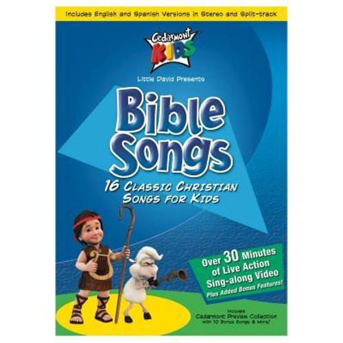 """<br><b>Author:</b> Cedarmont Kids<br><b>""""This DVD includes these amazing songs 01 - Jesus Loves Me 02 - Joshua Fought The Battle Of Jericho 03 - I Have Decided To Follow Jesus 04 - This Is My Commandment 05 - Little David Play On Your Harp 06 - Every Promise In The Book Is Mine 07 - Peter James And John In A Sailboat 08 - I Will Sing Of The Mercies Of The Lord Forever 09 - Dare To Be Daniel 10 - My God Is So Big 11 - Silver And Gold Have I None 12 - Jesus Wants Me For A Sunbeam 13 - Jesus Loves Even Me 14 - Give Me Oil In My Lamp 15 - B I B L E 16 - Everybody Ought To Know                                                                                                   Author: Cedarmont Kids Publisher: Cedarmont Kids Published: 09/11/2001Binding Type: DVDWeight: 0.15lbsSize: 7.50h x 5.40w x 0.50d ISBN: 0084418221691"""""""