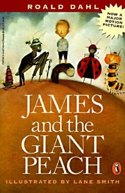 <b>From the bestselling author of </b><i><b>Charlie and the Chocolate Factory and The BFG</b></i><b> </b> <p></p>Roald Dahl was a champion of the underdog and all things little--in this case, an orphaned boy oppressed by two nasty, self-centered aunts. How James escapes his miserable life with the horrible aunts and becomes a hero is a Dahlicious fantasy of the highest order. You will never forget resourceful little James and his new family of magically overgrown insects--a ladybug, a spider, a grasshopper, a glowworm, a silkworm, and the chronic complainer, a centipede with a hundred gorgeous shoes. Their adventures aboard a luscious peach as large as a house take them across the Atlantic Ocean, through waters infested with peach-eating sharks and skies inhabited by malevolent Cloudmen, to a ticker-tape parade in New York City. <p></p>This happily ever after contemporary fairy tale is a twentieth-century classic that every child deserves to know. And Lane Smith's endearingly funny illustrations are a perfect match for the text. <p></p><b>All the gruesome imagery of old-fashioned fairy tales and a good measure of their breathtaking delight. --<i>Kirkus Reviews</i> </b><p></p>A stunning book, to be cherished for its story, a superb fantasy. --<i>The Chicago Tribune</i> <p></p><b>The most original fantasy that has been published in a long time... it] may well become a classic. --<i>San Francisco Chronicle</i></b><br><br><b>Author:</b> Roald Dahl<br><b>Publisher:</b> Puffin Books<br><b>Published:</b> 04/01/1996<br><b>Pages:</b> 126<br><b>Binding Type:</b> Paperback<br><b>Weight:</b> 0.25lbs<br><b>Size:</b> 7.60h x 5.00w x 0.40d<br><b>ISBN:</b> 9780140374247<br><br><b>Review Citation(s): </b><br><i>Entertainment Weekly</i> 11/14/2014 pg. 111