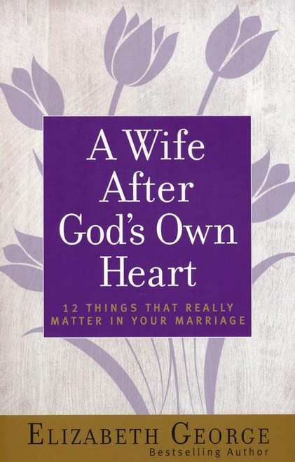 """<div></div> <p><span style=""""font-weight: 400;"""">A Wife After</span><i><span style=""""font-weight: 400;""""> God's Own Heart</span></i><span style=""""font-weight: 400;""""> reveals how you can have what every married woman desires—a wonderful marriage filled with mutual love, friendship, romance, and joy. No matter what the state or season of your marriage, this book is for you. Join bestselling author Elizabeth George as she shares the keys to having a great marriage, including...</span></p> <ul> <li style=""""font-weight: 400;""""><span style=""""font-weight: 400;"""">communicating to your husband more effectively</span></li> <li style=""""font-weight: 400;""""><span style=""""font-weight: 400;"""">understanding how to best support your man</span></li> <li style=""""font-weight: 400;""""><span style=""""font-weight: 400;"""">having more fun as a couple</span></li> <li style=""""font-weight: 400;""""><span style=""""font-weight: 400;"""">enhancing or rekindling marital intimacy</span></li> <li style=""""font-weight: 400;""""><span style=""""font-weight: 400;"""">honoring God together in your relationship</span></li> </ul> <p><span style=""""font-weight: 400;"""">When it comes to making a marriage the best it can be, you'll find this book a practical help—including the many """"Little Things That Make a Big Difference"""" in every chapter! Start now on the path to a stronger and more fulfilling relationship. Includes study guide.</span></p> <p></p> <li><span>Paperback</span></li> <li><span>256 Pages</span></li> <li> <span>Dimensions: </span><span>8.40 X 5.50 inches</span> </li> <p></p>"""