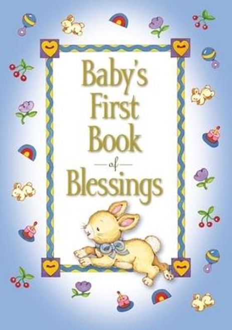 """<p><strong>Celebrate your little one's birth, baptism, dedication, or just say """"I love you"""" with this adorable book of blessings featuring 41 delightful rhyming poems.</strong></p><p><em>Baby's First Book of Blessings</em> lets tiny ones know God's blessings are all around them. From """"Comfy Laps"""" to """"Furry Friends,"""" and """"My Front Porch"""" to """"Bathtub Bubbles,"""" these charming rhymes will fill the hearts of little girls and boys with happiness: </p><p><em>I count my eyes, <br></em><em>One and two.<br></em><em>God blesses me <br></em><em>When I see you </em></p><p><em>Baby's First Book of Blessings</em> </p><ul> <li>Is a charming padded book of poems by bestselling author Melody Carlson</li> <li>Is a sweet reminder of God's love for little ones ages 0-4</li> <li>Makes the perfect gift for baby showers, baptisms, dedications, christenings, and birthdays for boys and girls</li> <li>Perfect companion product to <em>Baby's First Bible</em> and <em>Baby's First Book of Prayers</em> </li> </ul><br><br><b>Author:</b> Melody Carlson<br><b>Publisher:</b> Zonderkidz<br><b>Published:</b> 03/03/2020<br><b>Pages:</b> 96<br><b>Binding Type:</b> Hardcover<br><b>Weight:</b> 0.35lbs<br><b>Size:</b> 6.00h x 4.40w x 0.50d<br><b>ISBN:</b> 9780310730774"""