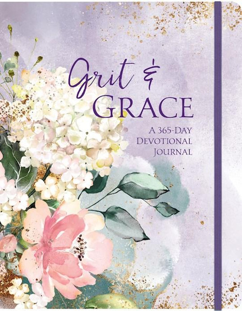 A devotional journal for the grit and grace that is woven through life.<br><br>Over the course of a year the ups and downs of our lives weave a pattern that becomes a beautiful tapestry of God's love and care. Our grit and His grace combine to make an extraordinary life out of ordinary days. Dated devotions have ample journaling space for responding or for prayers and plans for the rest of the year.<br> <br> Lay-flat binding<br> <br> Premium thick, acid-free, non-bleed paper <br> <br> Ribbon marker, closure band <br> Presentation page for personalization <br>