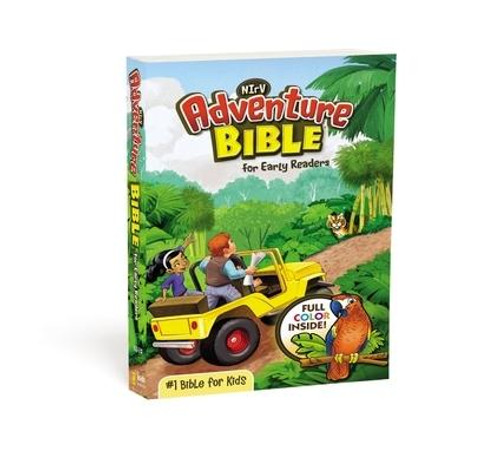 <p><strong>Take your kids on an adventure through the Bible </strong></p><p>The bestselling <em>NIrV Adventure Bible(R) for Early Readers</em> gets kids 6-10 excited about God's Word  They will be captivated with the full-color features that make reading Scripture and memorizing their favorite verses engaging and fun. Along the way they'll meet all types of people, see all sorts of places, and learn all kinds of things about the Bible. Most importantly, they'll grow closer in their relationship with God.</p><p>This Bible includes the complete New International Reader's Version (NIrV) which is written at a third-grade reading level and based on the accurate, readable, and clear New International Version (NIV). The NIrV is perfect for children learning to read and explore the Bible for the first time on their own.</p><p>Over 10 million copies within the Adventure Bible(R) brand have been sold. The Adventure Bible is recommended by more Christian schools and churches than any other Bible for kids </p><p>Features include: </p><ul> <li>Complete text of the easy-to-read New International Reader's Version (NIrV) of the Bible</li> <li> <strong>Full-color</strong> design throughout - Makes learning about the people, places, and culture of the Bible even more engaging</li> <li> <strong>Life in Bible Times</strong> - Articles and illustrations describe what life was like in ancient days</li> <li> <strong>Words to Treasure</strong> - Highlights great verses to memorize</li> <li> <strong>Did You Know?</strong> - Interesting facts help you understand God's Word and the life of faith</li> <li> <strong>People in Bible Times</strong> - Articles offer close-up looks at amazing people of the Bible</li> <li> <strong>Live It </strong> - Hands-on activities help you apply biblical truths to your life</li> <li> <strong>Twenty special pages</strong> - Focus on topics such as famous people of the Bible, highlights of the life of Jesus, how to pray, and the love passage for kids, all with a 
