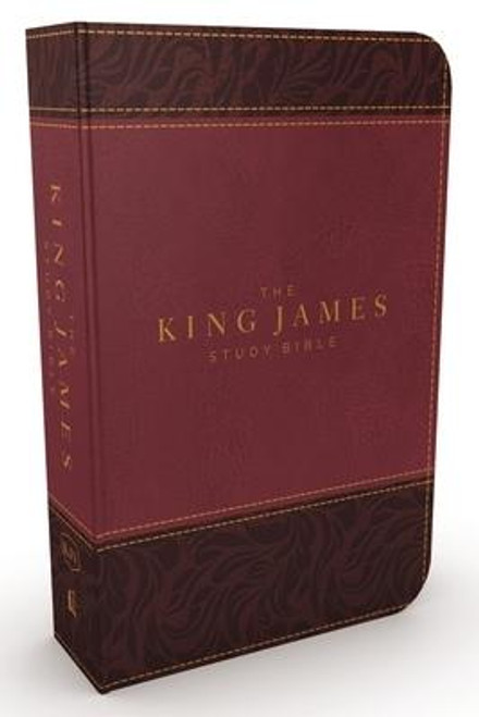<p>The <strong><em>King James Study Bible, Full-Color Edition</em></strong> is the most complete and comprehensive KJV study Bible available. Comprehensive book introductions, doctrinal articles, study notes, commentaries, personality profiles, word studies, and archaeological insights will help you experience the riches of God's Word. The full-color design, Holy Land images, classic works of art, charts, and maps further enhance your Bible reading experience. With all these features, plus special subject indexes, Christ's words in red, and an extensive concordance, no other KJV Bible offers more to students of the Holy Bible.</p><p><strong>Features include: </strong></p><ul> <li>Time-honored KJV Bible text</li> <li>Easy-to-read 10-pt type large print</li> <li> </li> <li>Center-column references with translation notes</li> <li>Beautiful full-color pages and features</li> <li>Hundreds of full-color maps, images, and charts</li> <li>5,700 authoritative and time-tested study notes</li> <li>Over 100 archaeological notes</li> <li>Over 100 Personality Profiles highlighting important figures in Scripture</li> <li>More than 200 notes on important Christian doctrines</li> <li>Book introductions and outlines</li> <li>Indexes and word-study concordance</li> </ul><br><br><b>Author:</b> Thomas Nelson<br><b>Publisher:</b> Thomas Nelson<br><b>Published:</b> 08/08/2017<br><b>Pages:</b> 2368<br><b>Binding Type:</b> Imitation Leather<br><b>Weight:</b> 4.20lbs<br><b>Size:</b> 10.00h x 7.30w x 2.30d<br><b>ISBN:</b> 9780718079789<br><b>Large Print</b>