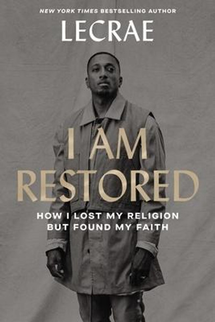 <p><strong>The never-before-told story of Lecrae's loss of faith after the experiences of his past threatened to ruin his career and life.<strong> </strong></strong></p><p>Two-time GRAMMY winning hip-hop artist and bestselling author Lecrae had inspired millions with his redemptive and gut-honest art. But when his personal life spun into chaos, he was forced to face the buried impact of the unhealed wounds--sexual abuse, physical trauma, addiction, and depression--that threatened to tear it all apart. Along the way, he realized the wounds we all carry have the potential to be unlikely guides to healing and freedom for ourselves, and others. </p><p>With vulnerable honesty and transformational yet simple steps you can apply today, Lecrae shares the personal practices he uses in his daily life for mental, emotional, and spiritual health. With powerful prose, he gives an unflinching look at the personal and public spaces that sadly hurt us so often--culture, politics, family, church, personal failure--and reminds us that learning to let go and forgive is the birthplace for the life of creativity and freedom God has for us. </p><p><em>I Am Restored </em>is an inspiring charge to embrace the lasting healing and restoration available now, and that we all desperately long for, because no matter what you've experienced, God is near, He hears, and He's not done with you yet.</p><br><br><b>Author:</b> Lecrae Moore<br><b>Publisher:</b> Zondervan<br><b>Published:</b> 10/13/2020<br><b>Pages:</b> 192<br><b>Binding Type:</b> Hardcover<br><b>Weight:</b> 0.75lbs<br><b>Size:</b> 8.90h x 6.10w x 1.00d<br><b>ISBN:</b> 9780310358039