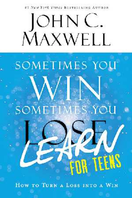 """Any setback--a championship loss, a bad grade, a botched audition-can be seen as a step forward when teens possess the right tools to turn that loss into a gain of knowledge. Drawing on nearly fifty years of leadership experience, Dr. Maxwell provides a roadmap for becoming a true learner, someone who wins in the face of problems, failures, and losses.  The teachings from Sometimes You Win, Sometimes You Learn have been edited and adapted just for teens. This Young Readers edition features all-new stories of real life figures that overcame adversity early in their lives, including entrepreneur Steve Jobs, Olympic Gold Medalists Gabby Douglas and Mikaela Shiffrin, and Nobel Peace Prize nominee Malala Yousafzai. Author: John C. Maxwell Paperback 8.25"""" x 5.25"""