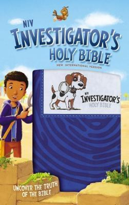 """<p>Have you ever used a magnifying glass? It makes everything bigger and easier to see, right? Detectives and scientists magnify things to understand them better. Well that's just what this Bible does--it's a magnifying glass to help children understand the Word of God better.</p><p> </p><p>The Bible is a gift from God, but many of the things written in the Bible are hard for kids to understand. In fact, sometimes they're downright mysterious to kids. Using kid-friendly language and a detective theme, the two color <em>NIV Investigator's Holy Bible</em> explains the Bible text for kids ages 6-10. Two central mystery-solving characters invite children to investigate the Bible using the following features: </p><ul> <li> <strong>Evidence</strong>--Bible book introductions answer what kind of book it is, who wrote it, what happens, and the """"best part""""</li> <li> <strong>Breakthrough</strong>--answers questions kids might ask, such as """"Who were the Philistines?"""" and """"What is <em>The Spirit of God</em>?""""</li> <li> <strong>Scene</strong>--includes descriptions highlighting geographical information pertinent to a verse</li> <li> <strong>Witness</strong>--explains the meaning and history behind Biblical names</li> <li> <strong>Detective</strong>--quizzes students on what they have learned</li> <li> <strong>Case Closed</strong>--explores how the events of a particular book of the Bible relate to children as individuals</li> </ul><br><br><b>Author:</b> Zondervan<br><b>Publisher:</b> Zonderkidz<br><b>Published:</b> 02/07/2017<br><b>Pages:</b> 1792<br><b>Binding Type:</b> Imitation Leather<br><b>Weight:</b> 2.51lbs<br><b>Size:</b> 9.00h x 5.70w x 1.90d<br><b>ISBN:</b> 9780310758853"""