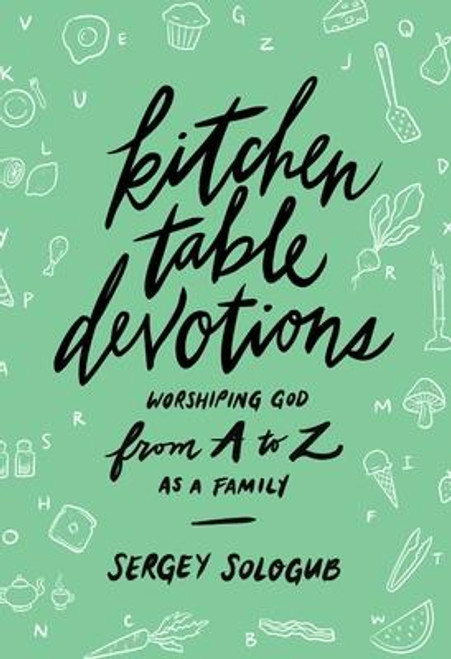 <p><b>Experience the joy of worshipping God as a family.</b></p><p>Discover how your home can become a house of worship with <i>Kitchen Table Devotions: Worshipping God from A-Z as a Family</i>. This 26-day devotional is a thoughtful but simple way for parents to creatively teach their children about the characteristics of the Lord. These devotions follow the letters of the alphabet so children of all ages can engage with the story, Scripture, and prayer of each devotion. Parents will feel empowered and equipped to lead their families in worship and learn practical guidance for how to make this special time part of your family's consistent rhythm of life. </p><p>So gather around the kitchen table, settle into the living room, or make space wherever your family enjoys being together, and delight in the beauty of worshipping the Lord together.<br></p><br><br><b>Author:</b> Sergey Sologub<br><b>Publisher:</b> Moody Publishers<br><b>Published:</b> 01/05/2021<br><b>Pages:</b> 176<br><b>Binding Type:</b> Paperback<br><b>Weight:</b> 0.70lbs<br><b>Size:</b> 9.40h x 6.30w x 0.50d<br><b>ISBN:</b> 9780802420367
