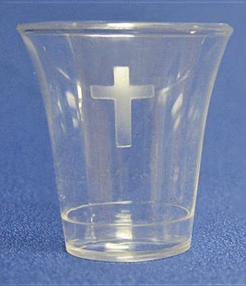"""<b>Disposable Communion Cups (Cross)-1-3/8"""" Package of 200.<br><b>Author:</b> Swanson Christian Products<br><b>Publisher:</b> Swanson Christian Products<br><b>Published:</b> 09/01/2012<br><b>Binding Type:</b> Other<br><b>Weight:</b> 0.85lbs<br><b>Size:</b> 5.70h x 12.50w x 1.60d<br><b>ISBN:</b> 0788200565009</b>"""