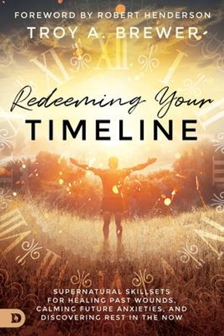 <p><b>Redeem Your Timeline </b></p> Haunted by your past? Anxious about the future? The omnipotent God of the Bible is not confined by the limits of time. He is not ashamed of your past or uncertain about your future. Every moment of your life is always held in the palm of His hand. <p></p> Troy Brewer - pastor of OpenDoor church, founder of Troy Brewer Ministries, and dynamic prophetic voice - shares a revolutionary teaching on your relationship to time. <p>As a believer, you can invite Jesus into your personal timeline to supernaturally redeem your past and miraculously prepare your future. Because past sins have been erased, the pain of trauma, abuse, and heartbreak can be redeemed. Future fears can be put to rest, as stress, anxieties, and uncertainties are surrendered to Him.</p><i>Redeeming Your Timeline </i>guides you through a personal encounter with Jesus to... <ul> <li>Overcome paralyzing guilt and shame.</li> <li>Conquer the crippling fear of failure.</li> <li>Silence the whispers of anxiety.</li> <li>Break free from the bonds of childhood trauma.</li> <li>Experience freedom from panic attacks.</li> <li>Discover deep, lasting inner peace.</li> </ul> Discover the supernatural freedom that comes when Jesus enters your timeline<br><br><b>Author:</b> Troy Brewer<br><b>Publisher:</b> Destiny Image Incorporated<br><b>Published:</b> 01/19/2021<br><b>Pages:</b> 296<br><b>Binding Type:</b> Paperback<br><b>Weight:</b> 0.88lbs<br><b>Size:</b> 8.90h x 6.00w x 0.70d<br><b>ISBN:</b> 9780768454000