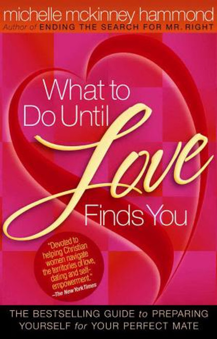 """<p><span style=""""font-weight: 400;"""">Discover practical steps for healthy, God-centered relationships, advice on avoiding the pitfalls of dating, and the tools needed to lay a solid, biblical foundation for true love.</span></p> <p><span style=""""font-weight: 400;"""">In </span><i><span style=""""font-weight: 400;"""">What to Do Until Love Finds You</span></i><span style=""""font-weight: 400;"""">, Michelle offers women practical, Godly advice on how to:</span></p> <p>Handle sexual temptations regardless of past experience</p> <p>Release expectations and embrace life</p> <p>Get to know God's purpose</p> <br><br> <ul> <li style=""""font-weight: 400;""""><span style=""""font-weight: 400;"""">Author: Michelle McKinney Hammond </span></li> <li style=""""font-weight: 400;""""><span style=""""font-weight: 400;"""">Paperback</span></li> <li style=""""font-weight: 400;""""><span style=""""font-weight: 400;"""">221 Pages</span></li> <li style=""""font-weight: 400;""""><span style=""""font-weight: 400;"""">0.54"""" H x 5.56"""" W</span></li> </ul>"""