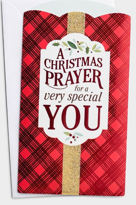 """<p><span style=""""font-weight: 400;"""" data-mce-fragment=""""1"""" data-mce-style=""""font-weight: 400;"""">Boxed set of 10 Christmas money/gift card holders is a perfect way to bless loved ones with a thoughtful prayer, a powerful Scripture, and a gift card or money during the Christmas season.</span></p> <p><span style=""""font-weight: 400;"""" data-mce-fragment=""""1"""" data-mce-style=""""font-weight: 400;"""">Scripture:<span data-mce-fragment=""""1"""">I will bless you...and you shall be a blessing. Genesis 12:2 NKJV</span></span></p> <ul> <li>Card Size: 4"""" x 7 1/2""""</li> <li><span style=""""font-weight: 400;"""" data-mce-fragment=""""1"""" data-mce-style=""""font-weight: 400;""""><span>10 Christmas Money/Gift Card Holders</span></span></li> <li><span style=""""font-weight: 400;"""" data-mce-fragment=""""1"""" data-mce-style=""""font-weight: 400;""""><span>11 White Envelopes</span></span></li> <li><span style=""""font-weight: 400;"""" data-mce-fragment=""""1"""" data-mce-style=""""font-weight: 400;""""><span>Glitter, Red foil, and Gloss details</span></span></li> </ul> <p></p>"""