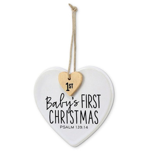 <p>Celebrate your baby's first Christmas with this cute ornament.</p>