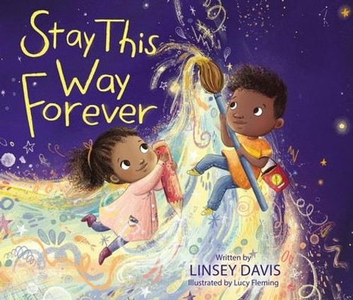 <p><strong>Celebrate the joy, wonder, and innocence of being a child with this love letter to the loved ones in your life that encourages them to celebrate their own special qualities now and into the future.</strong></p><p>Inspired by the endearing qualities she sees in her own son, Linsey Davis, <em>ABC News</em> correspondent and bestselling author of <em>The World Is Awake</em> and <em>One Big Heart</em>, has written another beautiful book that parents and grandparents can share with their little ones to let them know how special they are. With charming illustrations from bestselling artist Lucy Fleming paired with playful and heartwarming read-aloud rhymes, this book can help make a lasting impact on young minds as they discover their own unique qualities.</p><p><em>Stay This Way Forever</em> </p><ul> <li>Is a great read for ages 4-8 that celebrates diversity</li> <li>Is perfect for fans of Hoda Kotb, Ainsley Earhardt, Kelly Clarkson, Nancy Tillman, and Jamie Lee Curtis</li> <li>Features embossing accents on the cover</li> <li>Is the third book by bestselling author and <em>ABC News</em> correspondent Linsey Davis</li> </ul><br><br><b>Author:</b> Linsey Davis<br><b>Publisher:</b> Zonderkidz<br><b>Published:</b> 02/23/2021<br><b>Pages:</b> 32<br><b>Binding Type:</b> Hardcover<br><b>ISBN:</b> 9780310770084