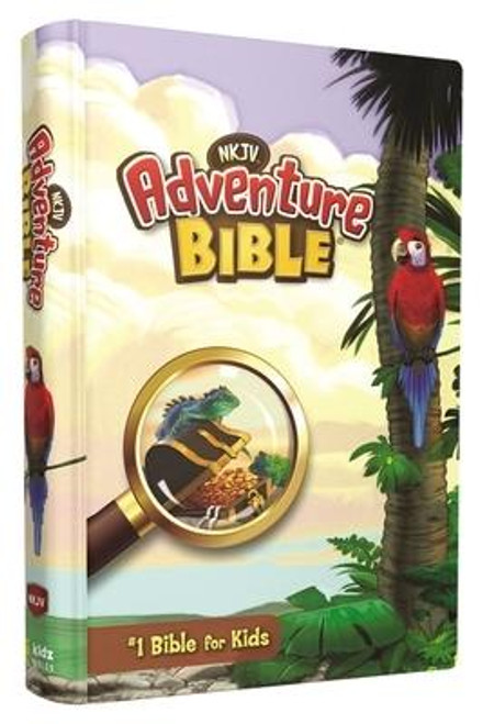 <p><strong>Take your kids on an adventure through God's Word with the #1 Bible for kids </strong></p><p>The <em>NKJV Adventure Bible(R)</em> will get kids excited about reading the Scriptures Kids will be captivated with the full-color features that make reading the Bible and memorizing their favorite verses engaging and fun. Along the way they will meet all types of people, see all sorts of places, and learn all kinds of things about the Bible. Most importantly, they will grow closer in their relationship with God.</p><p>Over 10 million copies within the Adventure Bible(R) brand have been sold. The Adventure Bible is recommended by more Christian schools and churches than any other Bible for kids </p><p>Features include: </p><ul> <li>Complete text of the New King James Version (NKJV)</li> <li> <strong>Full-color</strong> design throughout - makes learning about the people, places, and culture of the Bible even more engaging</li> <li> <strong>Life in Bible Times</strong>--Articles and illustrations describe what life was like in ancient days</li> <li> <strong>Words to Treasure</strong>--Highlights great verses to memorize</li> <li> <strong>Did You Know?</strong>--Interesting facts help you understand God's Word and the life of faith</li> <li> <strong>People in Bible Times</strong>--Articles offer close-up looks at amazing people of the Bible</li> <li> <strong>Live It </strong>--Hands-on activities help you apply biblical truths to your life</li> <li> <strong>Twenty special pages</strong>--Focus on topics such as famous people of the Bible, highlights of the life of Jesus, how to pray, and the love passage for kids, all with a jungle safari theme</li> <li> <strong>Book introductions</strong> with useful facts about each book of the Bible</li> <li> <strong>Dictionary/concordance</strong> for looking up tricky words</li> <li> <strong>Color map section</strong> to help locate places in the Bible</li> <li>9-point type size</li> </ul><br><br><b>Author:</b> Lawrence O. Ric
