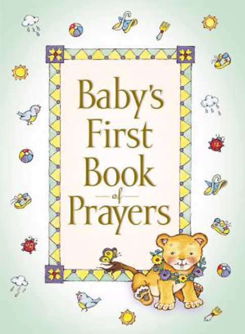 """<p><span style=""""font-weight: 400;"""">A charming first book of prayers for baby. Makes a wonderful gift for a new baby. Parents and Grandparents and Baby alike will love this padded, foil-stamped and embossed edition of My First Book of Prayers. Perfect for children </span><span style=""""font-weight: 400;"""">ages 2 and under.</span></p> <p></p> <ul> <li style=""""font-weight: 400;""""> <span style=""""font-weight: 400;"""">Author: </span><span style=""""font-weight: 400;"""">Melody Carlson</span> </li> <li style=""""font-weight: 400;""""><span style=""""font-weight: 400;"""">96 Pages</span></li> <li style=""""font-weight: 400;""""><span style=""""font-weight: 400;"""">Ages 2 and under </span></li> <li style=""""font-weight: 400;""""><span style=""""font-weight: 400;"""">0.56"""" H x 4.5"""" W </span></li> </ul>"""