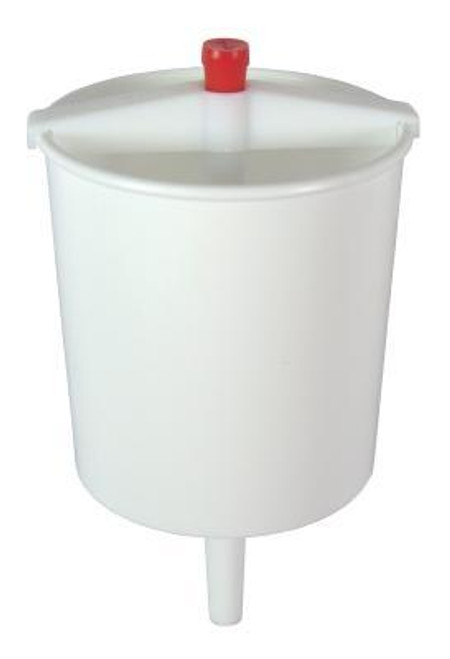 """<b>The Communion Cup Filler/Dispenser fills cups with push-button control and no dripping. Spring-activated push button dispenses juice to fill approximately 45 cups. Easy to fill and clean. 5"""" h. x 3"""" diameter; holds approximately 16 oz. of juice. Made of durable plastic. Care instructions: Rinse with warm soapy water before initial use, and after each use. Dry immediately.<br><b>Author:</b> Swanson<br><b>Publisher:</b> Swanson Christian Products<br><b>Published:</b> 06/23/2014<br><b>Binding Type:</b> Other<br><b>Weight:</b> 0.10lbs<br><b>Size:</b> 3.50h x 3.20w x 2.00d<br><b>ISBN:</b> 0788200564804</b>"""