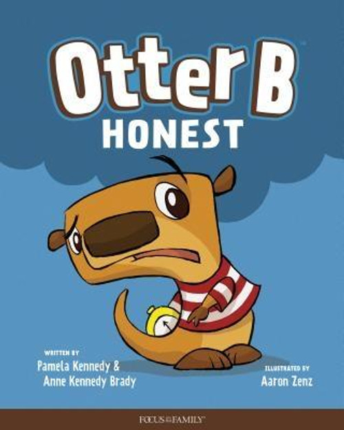 """<i>Otter B Honest</i> is the first in a series of six children's books that are intended to teach young children basic biblical character traits. In <i>Otter B Honest</i>, Otter breaks his father's watch while playing pirates with his friend. After trying to hide the broken watch from his father, he learns that honesty is best. Each book in the series ends with a rhyme that reinforces the book's theme: <br><br>""""Sometimes you will make mistakes<br>You hope no one will see.<br>But always choose to tell the truth, <br>It's how you Otter Be """"<br><br><b>Author:</b> Pamela Kennedy, Anne Kennedy Brady<br><b>Publisher:</b> Focus on the Family Publishing<br><b>Published:</b> 05/07/2019<br><b>Pages:</b> 24<br><b>Binding Type:</b> Hardcover<br><b>Weight:</b> 0.50lbs<br><b>Size:</b> 10.10h x 7.90w x 0.30d<br><b>ISBN:</b> 9781589979840"""