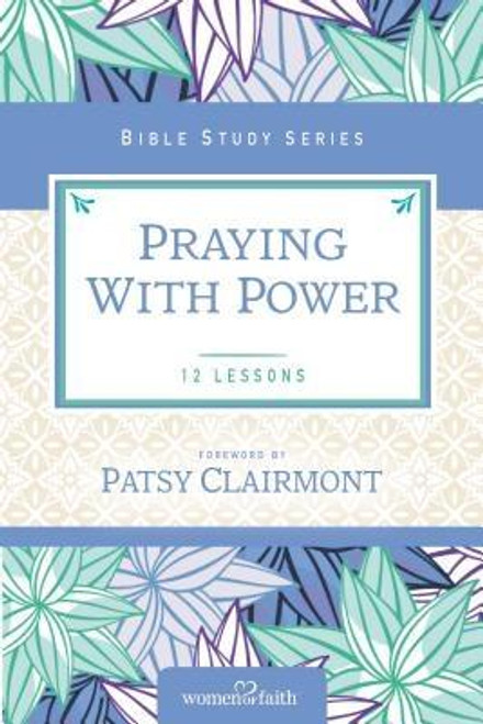 <p>If you are like most Christians, you know you should be praying more often, taking it more seriously, and giving it more priority in your life. But what often gets missed is that prayer is not a <em>requirement</em> but a <em>privilege</em> Prayer is the pathway to building a relationship with the Savior. Through prayer, the Creator and Sustainer of everything actually <em>listens to us.</em></p><p>In <em>Praying with Power, </em>you will explore what the Bible has to say about this fascinating two-way communication with God. You will explore journaling prayers, praying the Scripture, and how to pray your way through a desert or valley. You will also discover the incredible power of prayer and the promises God provides when you go to Him with your needs.</p><p>The Women of Faith<sup>(R)</sup> Bible Studies provide intriguing insights into topics that are relevant to women's lives today. Each guide includes twelve weeks of study, down-to-earth illustrations, and reflections to help you move the truth from your head to your heart. A leader's guide for use with small groups is also included.</p><br><br><b>Author:</b> Women of Faith<br><b>Publisher:</b> Thomas Nelson<br><b>Published:</b> 06/07/2016<br><b>Pages:</b> 128<br><b>Binding Type:</b> Paperback<br><b>Weight:</b> 0.40lbs<br><b>Size:</b> 8.90h x 6.00w x 0.30d<br><b>ISBN:</b> 9780310682592