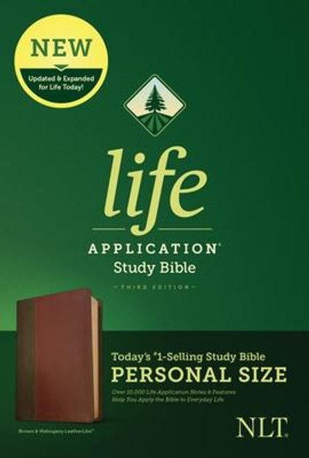 <b><i>Winner of the 2020 Christian Book Award for Bible of the Year </i><br><br>Trusted &amp; Treasured by Millions of Readers over 30 years, the <i>Life Application(R) Study Bible</i> Is Today's #1-Selling Study Bible, and a Bible <i>for All Times.</i></b><br><br>Now it has been <b>thoroughly updated and expanded</b>, offering even more relevant insights for understanding and applying God's Word to everyday life in today's world.<br><br><b>Discover How You Can Apply the Bible to Your Life Today</b><br>Now with a fresh two-color interior design and meaningfully updated study notes and features, this Bible will help you understand God's Word better than ever. It answers questions that you may have about the text and provides you practical yet powerful ways to apply the Bible to your life every day.<br><br>Study the stories and teachings of the Bible with verse-by-verse commentary. Gain wisdom from people in the Bible by exploring their accomplishments and learning from their mistakes. Survey the big picture of each book through overviews, vital statistics, outlines, and timelines, and grasp difficult concepts using in-text maps, charts, and diagrams--all to help you do life God's way, every day.<br><br><b>The Personal Size editions are for people who like to carry their study Bible with them.</b><br><br><b>Features: (Enhanced, updated, and with new content added throughout)</b><br><ul> <li>Now more than 10,000 <i>Life Application(R)</i> notes and features</li> <li>Over 100 <i>Life Application(R)</i> profiles of key Bible people</li> <li>Introductions and overviews for each book of the Bible</li> <li>More than 500 maps &amp; charts placed for quick reference</li> <li>Dictionary/concordance</li> <li>Extensive side-column cross-reference system to facilitate deeper study</li> <li> <i>Life Application(R)</i> index to notes, charts, maps, and profiles</li> <li>Refreshed design with a second color for visual clarity</li> <li>16 pages of full-color maps</li> <li>Quality Smy