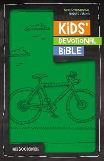 """<p>Complete with a year's worth of devotions, the Kids' Devotional Bible, NIrV will help children develop a habit they'll want to keep. Engaging weekday devotions, fun weekend activities, interesting illustrations, and a dictionary make this a Bible they'll want to read and apply to their lives. It includes the complete New International Reader's Version (NIrV), language written at a third grade reading level and the perfect stepping stone to the NIV.</p><p>Features include: </p><ul> <li>Short weekday devotions that help young readers apply Bible lessons for a full year</li> <li>52 weekend devotions that teach kids about God's creation through fun activities like visiting the zoo and gazing at the stars</li> <li>Got It"""" feature that encourages kids to find answers to Bible trivia themselves</li> <li>Book introductions that give helpful information about each book of the Bible</li> <li>A dictionary to look up words they want to know more about</li> <li>The complete NIrV text, which uses shorter sentences and easier words. Kids can read this Bible on their own </li> </ul><br><br><b>Author:</b> Zondervan<br><b>Publisher:</b> Zonderkidz<br><b>Published:</b> 09/06/2016<br><b>Pages:</b> 1632<br><b>Binding Type:</b> Imitation Leather<br><b>Weight:</b> 2.45lbs<br><b>Size:</b> 9.30h x 6.20w x 1.80d<br><b>ISBN:</b> 9780310758280"""
