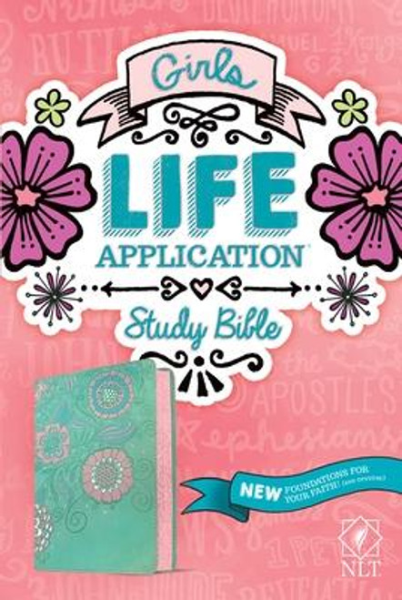 <b>2017 ECPA Christian Book Award Finalist (Bibles category)</b><br>The <i>Girls Life Application Study Bible</i> is the only Bible for tween girls based on the #1-selling <i>Life Application Study Bible</i>.<br><br>It includes over 800 Life Application notes plus other features and Foundations for Your Faith sections all intended to help girls grow in their Christian faith. The eight full-color and fun sections are designed to help girls learn more about the Bible, understand the Bible's big story, meet Jesus, know what it means to follow him, learn how to share their faith with others, and gain practical faith and relationship skills that will help them live out what they believe.<br><br>A one-of-a-kind discipleship resource, the <i>Girls Life Application Study Bible</i> helps girls draw closer to God and establish healthy relationships with those around them.<br><br>The New Living Translation breathes life into even the most difficult-to-understand Bible passages, changing people's lives as the words speak directly to their hearts.<br><br><b>Author:</b> Tyndale<br><b>Publisher:</b> Tyndale House Publishers<br><b>Published:</b> 07/07/2020<br><b>Pages:</b> 1568<br><b>Binding Type:</b> Imitation Leather<br><b>Weight:</b> 2.75lbs<br><b>Size:</b> 9.20h x 6.20w x 2.00d<br><b>ISBN:</b> 9781496445384