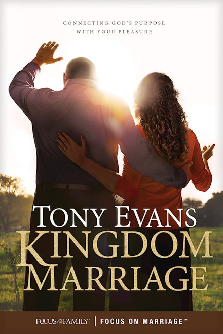 """<div><span style=""""font-weight: 400;"""">What happens when a kingdom man marries a kingdom woman? </span><i><span style=""""font-weight: 400;"""">Kingdom Marriage: Connecting God's Purpose with Your Pleasure</span></i><span style=""""font-weight: 400;""""> helps couples grow together as a kingdom couple to fulfill God's design and purpose for their marriage. Through practical insights and powerful stories, Dr. Tony Evans inspires and instructs so couples will discover the hope, challenge, and guidance God's Word provides for their journey together.</span> </div> <div><span style=""""font-weight: 400;""""></span></div> <div><span style=""""font-weight: 400;""""></span></div> <p><span style=""""font-weight: 400;"""">""""You can reflect the glory of God and the unity of the Trinity through your shared purpose, honor, and love as a true kingdom couple."""" ―Tony Evans</span></p> <p><i><span style=""""font-weight: 400;"""">Kingdom Marriage</span></i><span style=""""font-weight: 400;""""> shows couples that the key to influencing our society and world with lasting impact is found in solidifying biblical marriage in the way God intended. It starts with both wife and husband reflecting God and His image and modeling that reflection within the roles and responsibilities of their union. This is based on a correct understanding of God's kingdom and their responsibilities in it.</span></p> <p></p> <ul> <li><span>Author: Tony Evans </span></li> <li><span>192 Pages</span></li> <li><span>Availablein Softcover or Hardcover</span></li> </ul> <p></p>"""