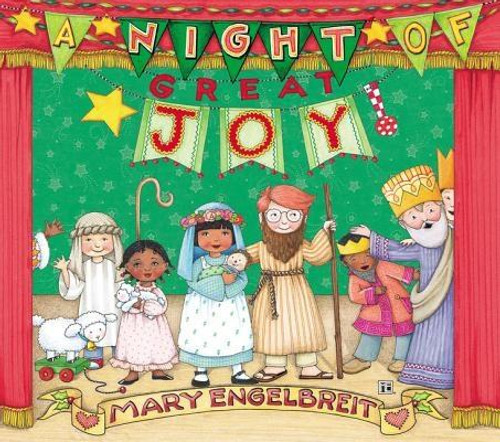 <p><strong>Mary Engelbreit, <em>New York Times </em>bestselling illustrator of the blockbuster Christmas classic <em>The Night Before Christmas, </em>brings readers a holiday picture book that's sure to become a family favorite, with a cover that sparkles with glitter and foil and celebrates the joyful season of Christmas. </strong></p><p><em>A Night of Great Joy</em> tells the story of the nativity through the performance of a children's Christmas pageant. With adorable illustrations and simple storytelling, Engelbreit paints a wonderful picture of the night Jesus was born.</p><p>This gorgeous picture book is for children ages 4 to 8. <em>A Night of Great Joy </em>brings peace to the world and highlights: </p><ul> <li>The arrival of Mary and Joseph in Bethlehem on a donkey</li> <li>The three wise men presenting their gifts of gold, incense, and myrrh to the baby Jesus lying in a manger</li> <li>The birth of Jesus, guiding them with the star of Bethlehem, the magi riding from Jerusalem on camels, and a chorus of angels</li> </ul><p>Your entire family will love reading <em>A Night of Great Joy</em> during the holiday season. Engelbreit's brilliant illustrations will create a sweet holiday tradition you'll want to read every Christmas.</p><br><br><b>Author:</b> Mary Engelbreit<br><b>Publisher:</b> Zonderkidz<br><b>Published:</b> 10/01/2016<br><b>Pages:</b> 32<br><b>Binding Type:</b> Hardcover<br><b>Weight:</b> 0.90lbs<br><b>Size:</b> 9.10h x 10.90w x 0.40d<br><b>ISBN:</b> 9780310743545<br><br><b>Review Citation(s): </b><br><i>Kirkus Reviews</i> 01/01/0001<br><i>Booklist</i> 09/15/2016 pg. 57<br><i>Kirkus Reviews</i> 09/01/2016<br><i>Publishers Weekly</i> 09/26/2016