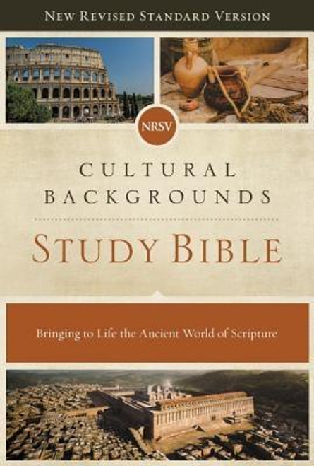 <p><strong>Discover new dimensions of insight with a behind-the-scenes tour of the ancient world</strong></p><p>You've heard many Bible stories hundreds of times, but how many details are you missing? Sometimes a little context is all you need to discover the rich meaning behind even the most familiar stories of Scripture. That's what the <em>NRSV Cultural Backgrounds Study Bible </em>provides. Every page of this NRSV Bible is packed with expert insight into the customs, culture, and literature of biblical times. These fascinating explanations will serve to clarify your study of the Scriptures, reinforcing your confidence and bringing difficult passages of Scripture into sharp focus.</p><p>The Bible was originally written to an ancient people removed from us by thousands of years and thousands of miles. The Scriptures include subtle culturally based nuances, undertones, and references to ancient events, literature and customs that were intuitively understood by those who first heard the texts read. For us to truly understand the Scriptures as they did, we need a window into their world and language.</p><p>The <em>NRSV Cultural Backgrounds Study Bible</em>, with notes from Dr. John H. Walton (Wheaton College) in the Old Testament and Dr. Craig S. Keener (Asbury Theological Seminary) in the New Testament, brings the ancient world of Scripture to life for modern readers.</p><p>Expertly designed for the New Revised Standard Version (NRSV) text, Zondervan's exclusive Comfort Print(R) delivers a smooth reading experience that complements the foremost Bible translation vetted by Protestant, Catholic, Orthodox, Evangelical, and Jewish scholars. Renowned for its beautiful balance of scholarship and readability, the NRSV faithfully serves the church in personal spiritual formation, in the liturgy, and in the academy.</p><p><strong> Features: </strong></p><ul> <li>The complete text of the New Revised Standard Version (Protestant canon), vetted by an ecumenical pool of Christia
