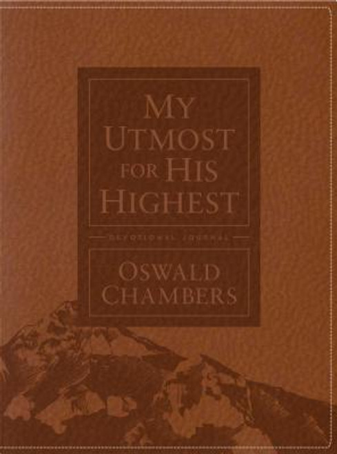 """Whether you're an Oswald Chambers devotee or new to his books, you'll appreciate this combination devotional and journal. The daily meditations from <i>My Utmost for His Highest </i>will inspire you to """"go deep"""" and contemplate your faith journey. And each day's page has special sections--Biblical Truth and Personal Application--with space to journal your thoughts and the spiritual truths that God is revealing. This devotional journal is an ideal way for you to meditate, pray, and ponder each day.<br><br><br><b>Author:</b> Oswald Chambers<br><b>Publisher:</b> Our Daily Bread Publishing<br><b>Published:</b> 11/01/2018<br><b>Pages:</b> 384<br><b>Binding Type:</b> Hardcover<br><b>Weight:</b> 1.25lbs<br><b>Size:</b> 8.90h x 6.90w x 0.90d<br><b>ISBN:</b> 9781627077347"""