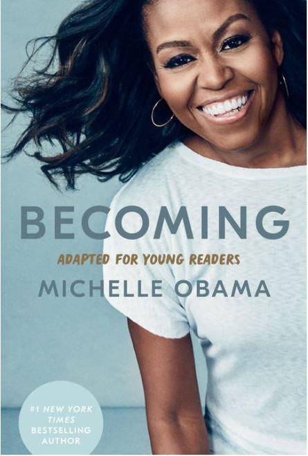 """<p>Michelle Obama's worldwide bestselling memoir,<em data-mce-fragment=""""1"""">Becoming,</em>is now adapted for young readers.<br></p> <p><br data-mce-fragment=""""1""""><span data-mce-fragment=""""1"""">Michelle Robinson was born on the South Side of Chicago. From her modest beginnings, she would become Michelle Obama, the inspiring and powerful First Lady of the United States, when her husband, Barack Obama, was elected the forty-fourth president. They would be the first Black First Family in the White House and serve the country for two terms.</span><br data-mce-fragment=""""1""""><span data-mce-fragment=""""1""""></span><br data-mce-fragment=""""1""""><span data-mce-fragment=""""1"""">Growing up, Michelle and her older brother, Craig, shared a bedroom in their family's upstairs apartment in her great-aunt's house. Her parents, Fraser and Marian, poured their love and energy into their children. Michelle's beloved dad taught his kids to work hard, keep their word, and remember to laugh. Her mom showed them how to think for themselves, use their voice, and be unafraid.</span><br data-mce-fragment=""""1""""><span data-mce-fragment=""""1""""></span><br data-mce-fragment=""""1""""><span data-mce-fragment=""""1"""">But life soon took her far from home. With determination, carefully made plans, and the desire to achieve, Michelle was eager to expand the sphere of her life from her schooling in Chicago. She went to Princeton University, where she learned what it felt like to be the only Black woman in the room. She then went to Harvard Law School, and after graduating returned to Chicago and became a high-powered lawyer. Her plans changed, however, when she met and fell in love with Barack Obama.</span><br data-mce-fragment=""""1""""><span data-mce-fragment=""""1""""></span><br data-mce-fragment=""""1""""><span data-mce-fragment=""""1""""><span data-mce-fragment=""""1"""">From her early years of marriage, and the struggle to balance being a working woman, a wife, and the mom of two daughters, Michelle Obama details the shift she made to political life and what h"""