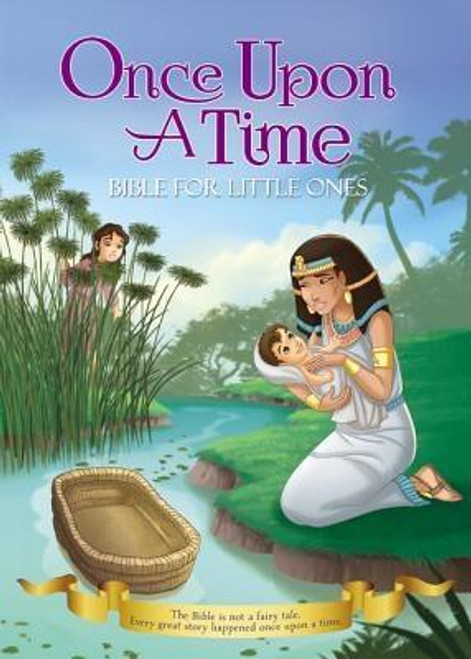"""<p>The Bible is not a fairy tale, but every great story happened """"once upon a time."""" The <em>Once Upon a Time Bible for Little Ones</em> features eight powerful and inspiring stories from the Bible in a treasured padded board book format and decorated with foil. This storybook includes tales of the baby in the basket, the birth of Jesus, and the boy that helped feed thousands, all illustrated with whimsical artwork by Omar Aranda. Each story is told in a way that will engage and excite young children as they hear the tales of real people of the Bible.</p><br><br><b>Author:</b> Omar Aranda, Zondervan<br><b>Publisher:</b> Zonderkidz<br><b>Published:</b> 08/08/2017<br><b>Pages:</b> 32<br><b>Binding Type:</b> Board Books<br><b>Weight:</b> 0.70lbs<br><b>Size:</b> 8.10h x 5.30w x 1.00d<br><b>ISBN:</b> 9780310761709"""