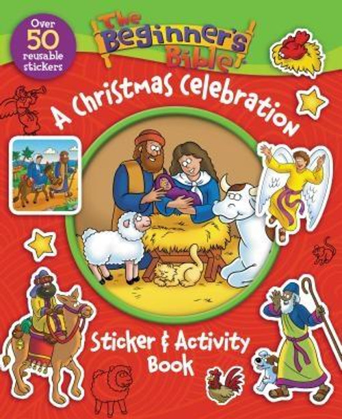 """<p><strong>With over 50 reusable stickers, puzzles, mazes, and other interactive games and activities, there's no better way to bring the Christmas story to life for even the youngest readers than <em>The Beginner's Bible A Christmas Celebration Sticker and Activity Book</em>.</strong></p><p>It's no wonder so many parents have called <em>The Beginner's Bible A Christmas Celebration Sticker and Activity Book</em>, """"One of my favorite sticker and activity books in the Beginner's Bible series;"""" as well as, """"Perfect for the weeks leading up to Christmas and for entertaining children during holiday service.""""</p><p>Featuring <em>The Beginner's Bible</em> classic art and simply written content, this friendly and fun sticker and activity book helps bring the Christmas story to life through age-appropriate puzzles, activity pages, and 50 reusable stickers.</p><p>Easy to read and fun to complete, parents and grandparents can feel good about giving <em>The Beginner's Bible All About Jesus Sticker and Activity Book</em> to their children and grandchildren to learn more about Jesus.</p><p><em>The Beginner's Bible All About Jesus Sticker and Activity Book</em> </p><ul> <li>Contains over 50 Christmas-themed reusable stickers, age-appropriate puzzles, and activity pages</li> <li>Features colorful illustrations, classic art, and simply written, easy-to-read text highlighting the biblical Christmas story</li> </ul><ul> <li>Is part of The Beginner's Bible(R) brand, the bestselling Bible storybook brand of our time, with more than 25 million products sold</li> <li>Is a perfect stocking stuffer and Christmas gift for newborns to four-year-olds</li> <li>Is just right for children and parents and grandparents to share</li> </ul><br><br><b>Author:</b> Zondervan<br><b>Publisher:</b> Zonderkidz<br><b>Published:</b> 10/06/2015<br><b>Pages:</b> 16<br><b>Binding Type:</b> Paperback<br><b>Weight:</b> 0.20lbs<br><b>Size:</b> 10.50h x 8.50w x 0.13d<br><b>ISBN:</b> 9780310746706"""