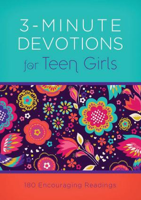 Got 3 minutes? . . . You'll find just the wisdom and encouragement you need in 3-Minute Devotions for Teen Girls.  This practical devotional packs a powerful dose of inspiration into 3 short minutes. Minute 1: scripture to meditate on Minute 2: a just-right-sized-for-you devotional reading Minute 3: a prayer to help you jump-start a conversation with God Each day's reading meets you right where you are and is a great way for you to begin or end your day. Author: April Frazier 192 Pages Paperback 4.2 x 5.90 inches