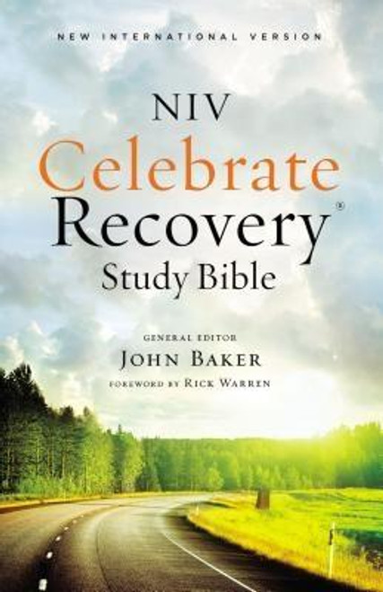"""<p>Find freedom from life's hurts, hang-ups, and habits.</p> <p>If you long to break free from life's hurts, hang-ups, and habits, the <em>NIV Celebrate Recovery Study Bible</em> is a powerful and positive ally. This Bible is based on eight recovery principles found in Jesus' Sermon on the Mount and on the underlying Christ-centered twelve steps of the proven Celebrate Recovery* program. The <em>NIV Celebrate Recovery Study Bible</em> lifts you up and shows you how to walk, step by attainable step, on a path of healing and liberty.</p> <p>Based on the proven and successful Celebrate Recovery program developed by John Baker and Rick Warren, the <em>NIV Celebrate Recovery Study Bible</em> offers hope, encouragement, and, through developing a relationship with Jesus Christ, empowerment to rise above your struggles.</p> <p>FEATURES</p> <ul> <li>Full text of the most read, most trusted modern-English Bible - the New International Version (NIV)</li> <li>Articles explain eight recovery principles and accompanying Christ-centered twelve steps</li> <li>Over 110 lessons unpack eight recovery principles in practical terms</li> <li>Recovery stories offer encouragement and hope</li> <li>30 days of recovery-related readings</li> <li>Over 50 full-page biblical character studies are tied to stories from real-life people who have found peace and help with their own hurts, hang-ups, and habits</li> <li>Book introductions</li> <li>Side-column reference system keyed to Celebrate Recovery's eight recovery principles</li> <li>Topical index</li> </ul> <p>""""I'm excited you're beginning the journey to recovery. Your life will change. You'll experience freedom from your sinful habits, hang-ups, and hurts as you give up control and allow Jesus to be Lord in every area of your life."""" From the foreword by Dr. Rick Warren, senior pastor, Saddleback Church</p> <p>""""Throughout the pages of Scripture, we see God's heart for celebrating recovery This collection will help you experience and celebrate t"""