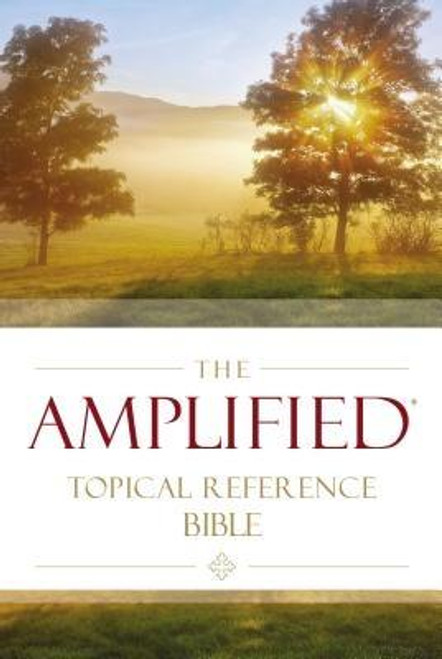 <p>A topically-oriented version of the popular Amplified(R) Bible. The Amplified(R) Topical Reference Bible not only helps you explore a host of biblical topics in depth, but it also gives you a more precise understanding of the language and meaning of the entire Bible.</p> <p>The Amplified Bible is a unique translation that uses a system of punctuation, italics, references, and synonyms to unlocked subtle shades of meaning as found in the original Greek, Hebrew, and Aramaic words and phrases behind the English Bible.</p> <p>Add to that an expansive topical index and you've got an ideal study resource. From Aaron to Zophar, the Amplified Topical Reference Bible helps you gain both practical and theological insights into important biblical topics. And it makes study simple and rewarding.</p> <p>Features: </p> <ul> <li>Uses a unique system of punctuation, italics, references, and synonyms to unlock subtle shades of meaning as found in the original biblical languages</li> <li>Extensive topical index with over 700 entries guides you with Scripture references and outlines to help you conduct organized studies on hundreds of important subjects</li> <li>Footnotes provide concise historical, archaeological, and devotional insights, plus hundreds of references to select sources and authors</li> <li>8 pages of full-color maps</li> <li>Double-column format</li> </ul> 8.5-point type size<br><br><b>Author:</b> Zondervan<br><b>Publisher:</b> Zondervan<br><b>Published:</b> 01/30/2018<br><b>Pages:</b> 1568<br><b>Binding Type:</b> Hardcover<br><b>Weight:</b> 1.80lbs<br><b>Size:</b> 8.50h x 5.60w x 1.40d<br><b>ISBN:</b> 9780310446668
