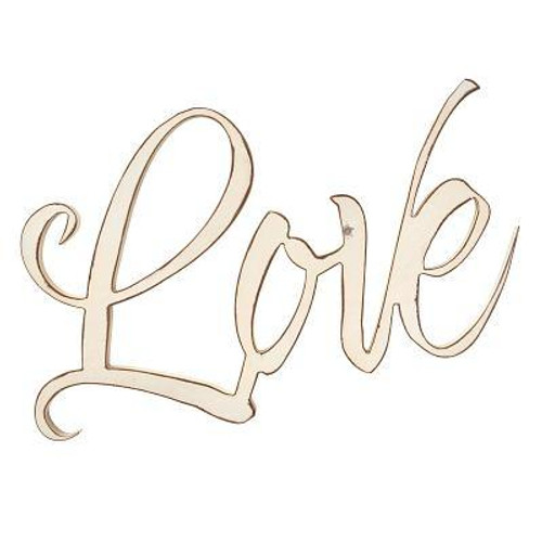 This MDF wall art serves as a beautiful reminder to make love the center of our home. <br><b>Weight:</b> 1.45lbs<br><b>Size:</b> 20.30h x 14.10w x 1.70d<br><b>ISBN:</b> 0843310100127